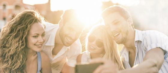 Gekko Retail Marketing Group Selfie